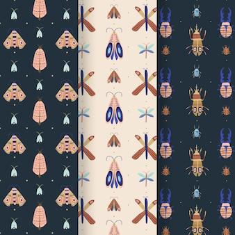 Creatieve verzameling bugpatronen