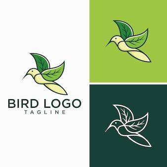 Creatieve vogel logo-afbeeldingen