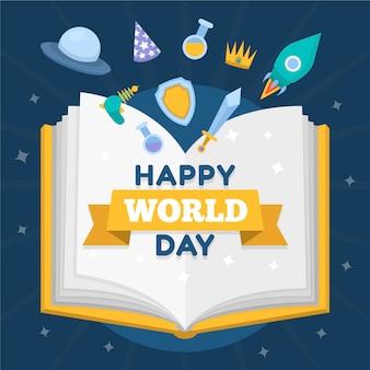 Creatieve wereld boek dag