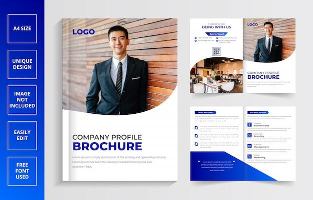 Creatieve zakelijke brochure sjabloon