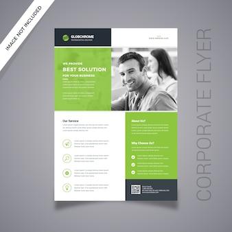 Creatieve zakelijke flyer