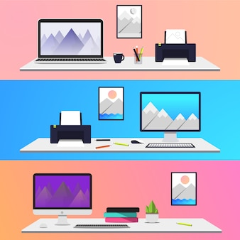 Creative desktop collection