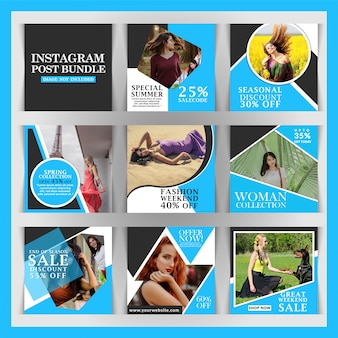 Creative discount instagram post