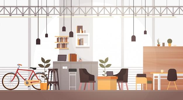 Creative office co-workingcentrum university campus modern workplace