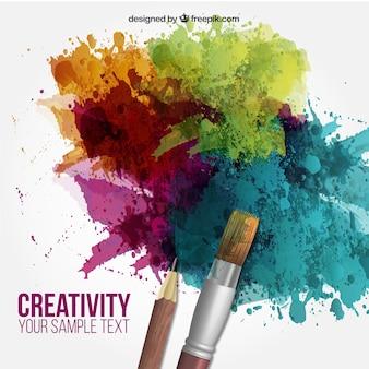Creativiteit achtergrond