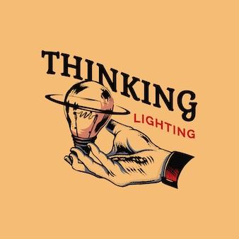 Creativiteit en idee concept