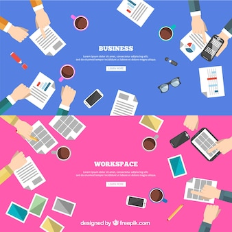 Creativiteit en zakelijke teamwerk