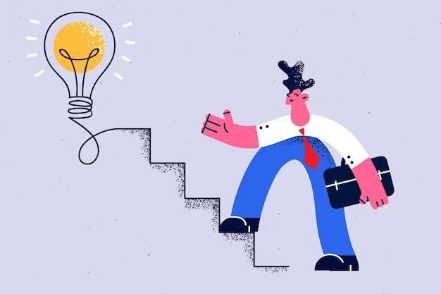 Creativiteit in het bedrijfsleven brainstormen nieuw idee concept