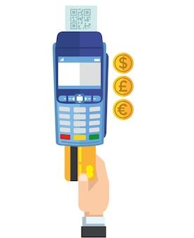 Creditcard betaalterminal