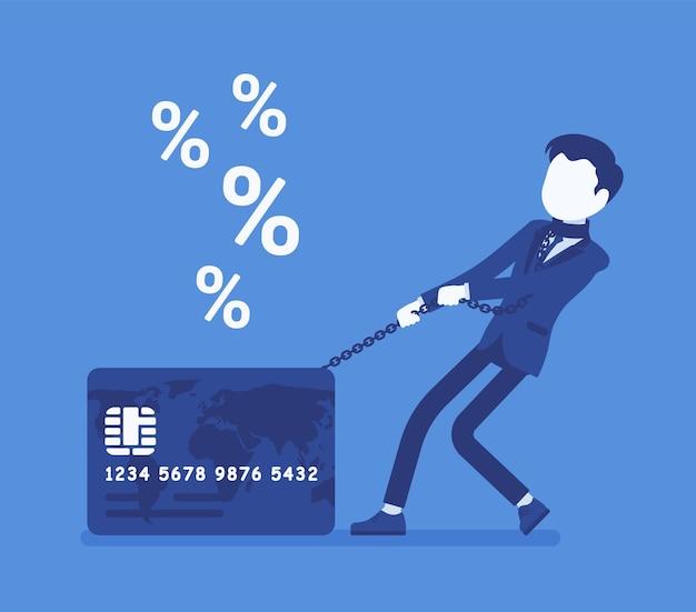 Creditcard mannelijke kaarthouder percentage percentage probleem