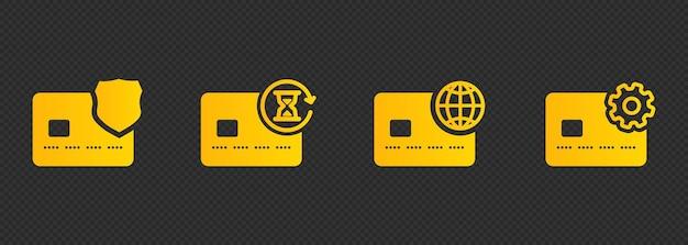 Creditcard pictogramserie