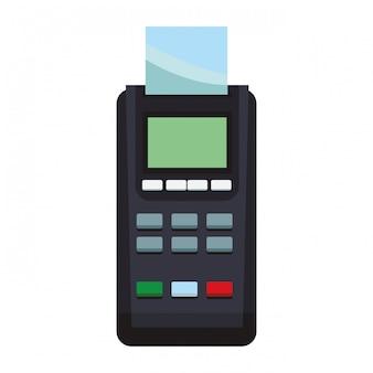 Creditcardbetaling met kaartlezer