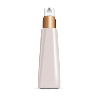 Crème dispenser elite cosmetica fles. packaging
