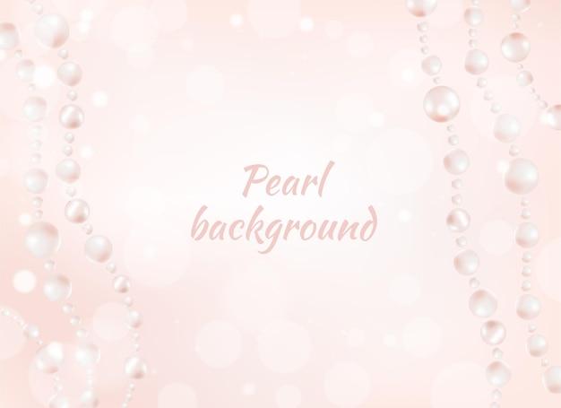 Crème perl achtergrond.