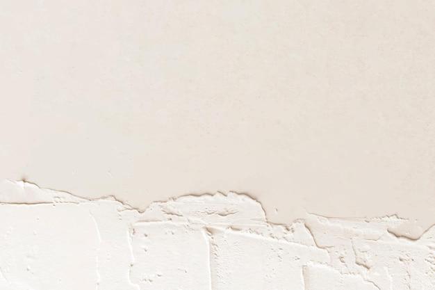 Crème verf textuur ontwerpruimte