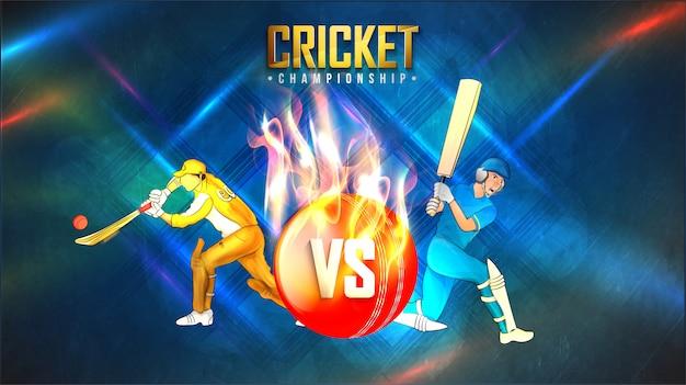 Cricket achtergrond.