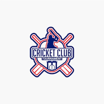 Cricket club-badge