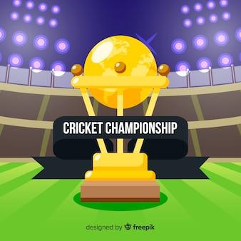 Cricket kampioenschap achtergrond