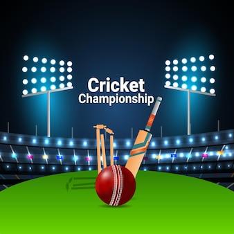 Cricket kampioenschap kaart