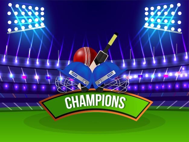 Cricket kampioenschap stadion