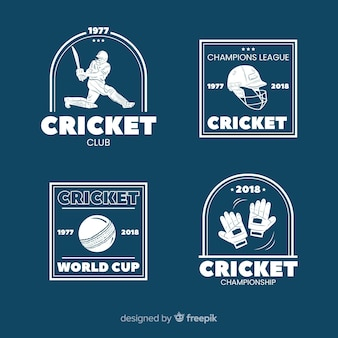Cricket labelpakket