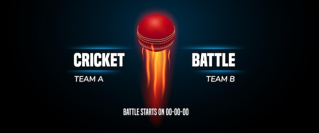 Cricket spel achtergrond, afbeelding.