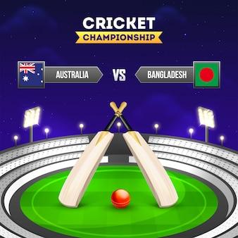 Cricket toernooi deelnemer land