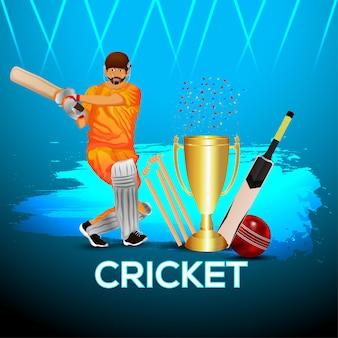 Cricket wedstrijdtoernooi