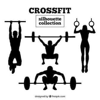 Crossfit silhouet collectie