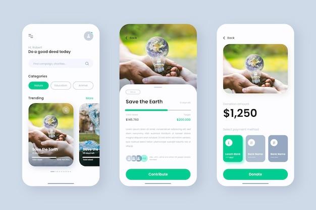 Crowdfunding-app-sjabloon