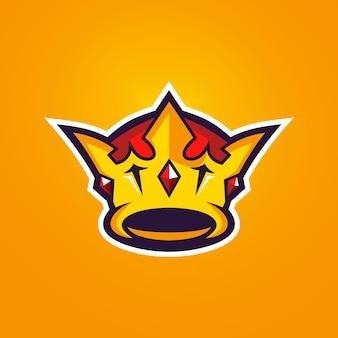 Crown esports logo-sjablonen