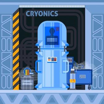 Cryogene voorzieningen flat