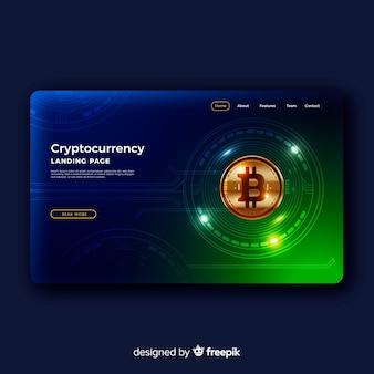 Cryptocurrency-bestemmingspagina
