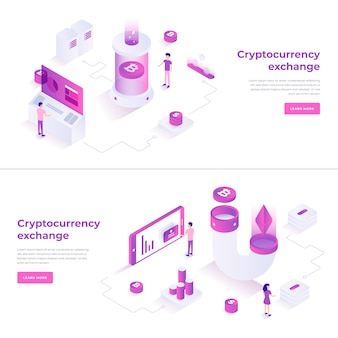 Cryptocurrency exchange en blockchain-composities