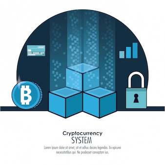 Cryptocurrency-systeembanner
