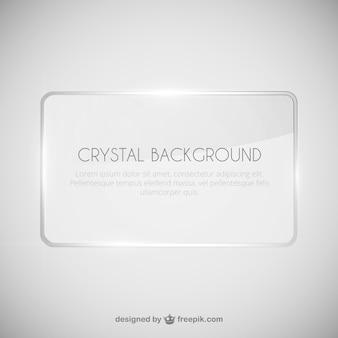 Crystal achtergrond sjabloon