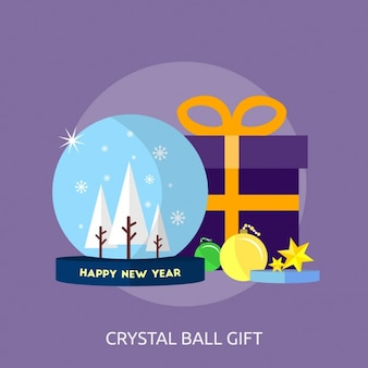 Crystal ball giftontwerp