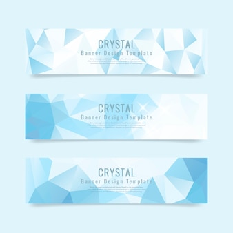 Crystal gestructureerde achtergrond collectie