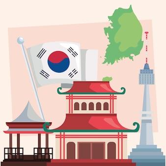 Culturele bezienswaardigheden in korea