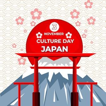 Cultuurdag in japannationale jaarlijkse viering 3 november