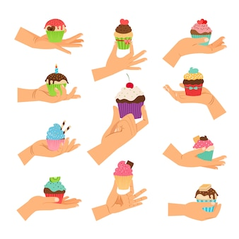 Cupcake-geschenken