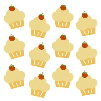 Cupcake patroon