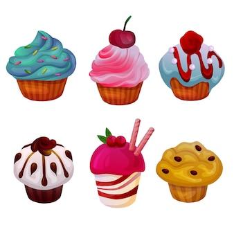 Cupcakes instellen