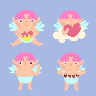 Cupido concept collectie handgetekende