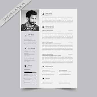 Curriculum vitae-ontwerp
