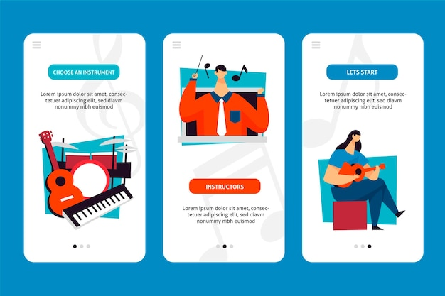 Cursus-app voor mobiele telefoon