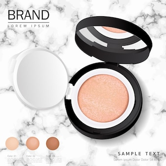 Cushion compact foundation advertenties