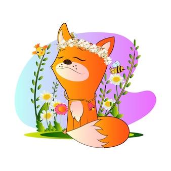 Cute adorable cat vector design