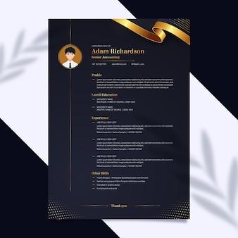 Cv-template voor investeringen