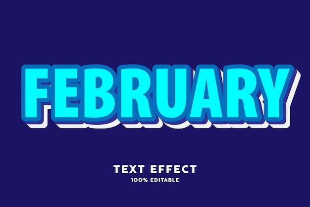 Cyaan en blauw 3d teksteffect